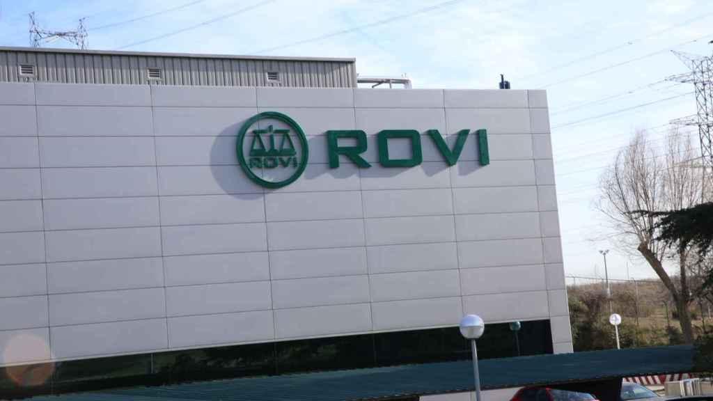 Una de las fábricas de Laboratorios Rovi.