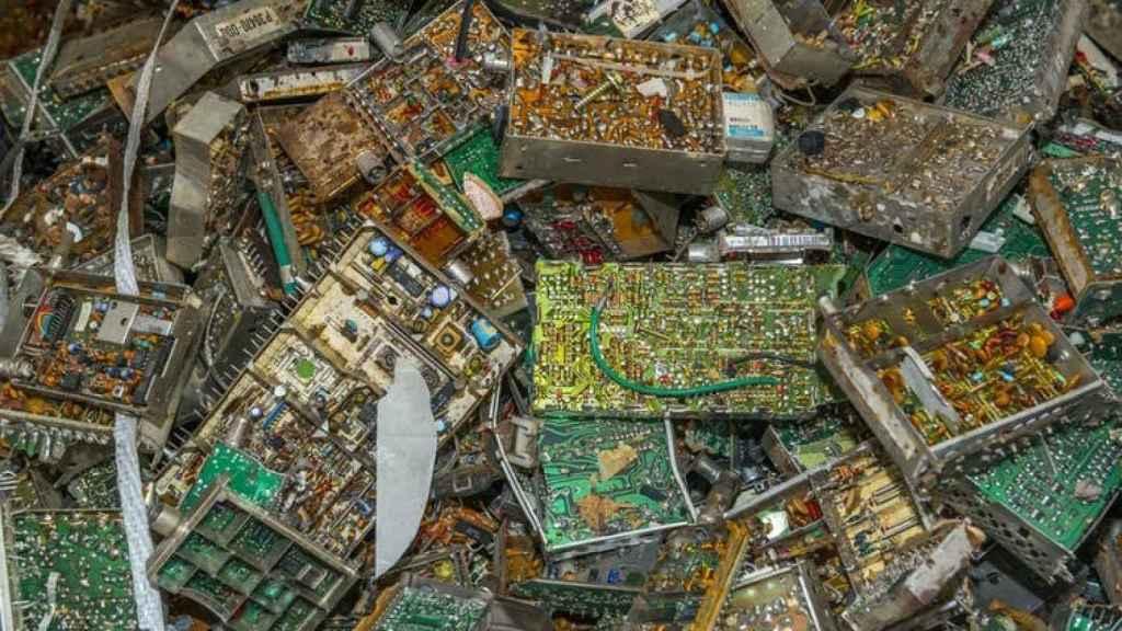 Exportar residuos electrónicos es incompatible con la economía circular.