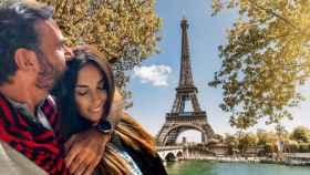 Isabel Rábago ha viajado a la capital francesa para pasar unos días entre obras de arte.