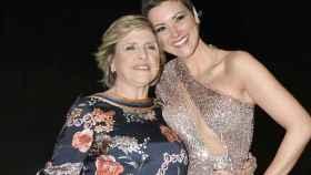 María Jesús Ruiz y su madre Juani en una imagen de archivo.