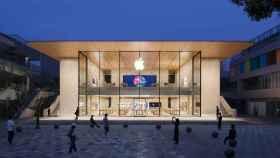 La nueva Apple Sanlitun en la capital china.