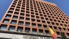 La fachada del Ministerio de Sanidad, en Madrid.