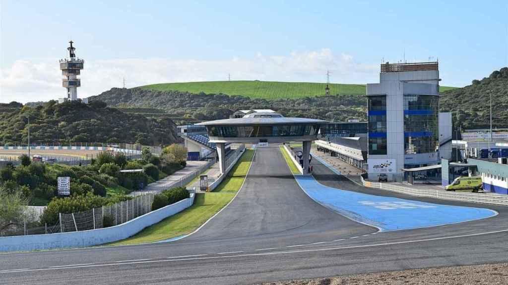 Imagen del circuito de Jerez