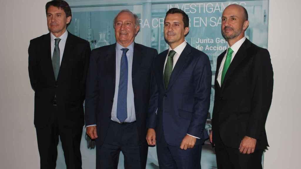 Juan López-Belmonte, CEO; Juan López-Belmonte, presidente; Javier e Iván López-Belmonte, vicepresidentes.
