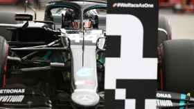 Lewis Hamilton, en el GP de Hungría de Fórmula 1