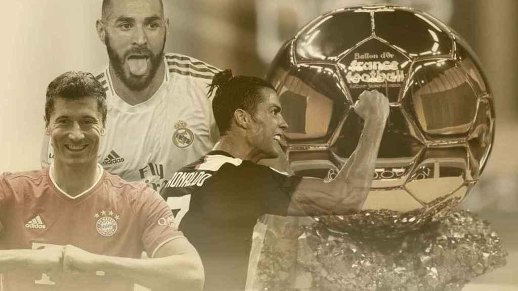 Benzema y el Balón de Oro