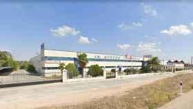Imagen de un polígono industrial en Sonseca. (Google)