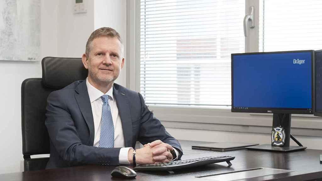 Dionisio Martínez, CEO de Dräger en España y Portugal.