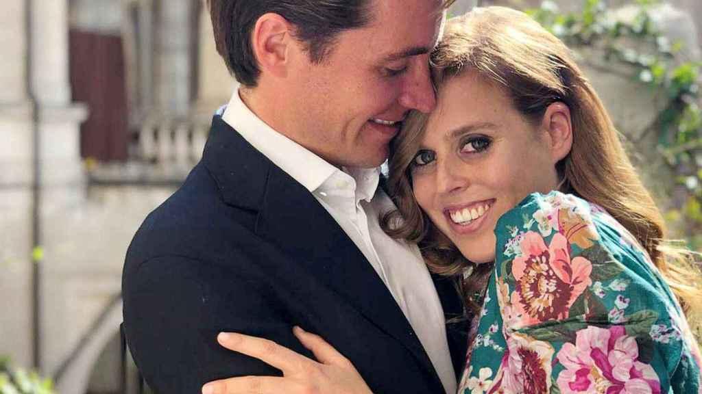 Beatriz de York y Edoardo Mapelli anunciaron su compromiso en septiembre de 2019.