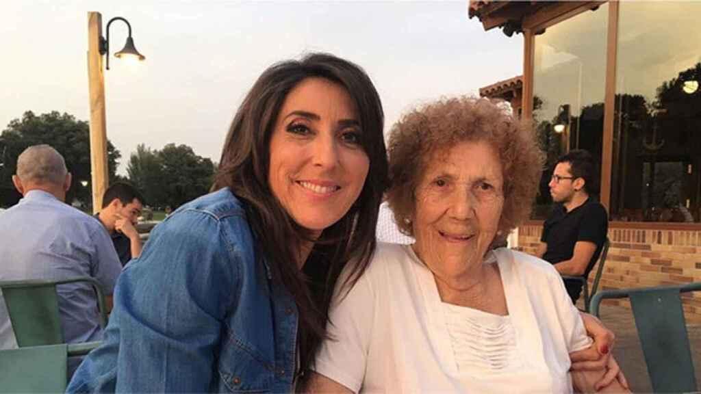 La presentadora perdía a su madre el pasado 10 de febrero.