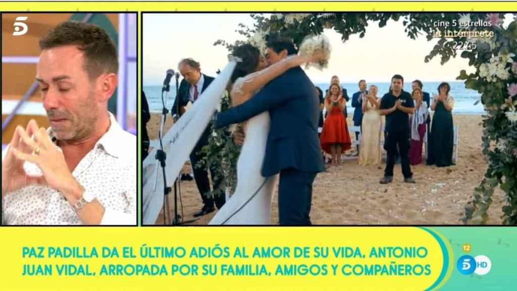 Jesús Manuel Ruiz, visiblemente afectado, en ´Sálvame'.