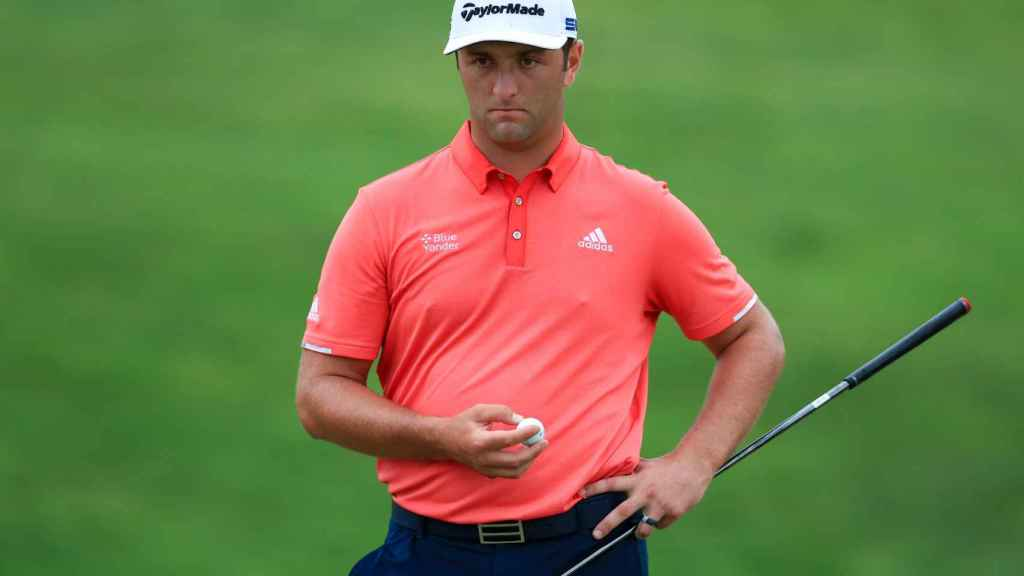 Jon Rahm, durante el The Memorial