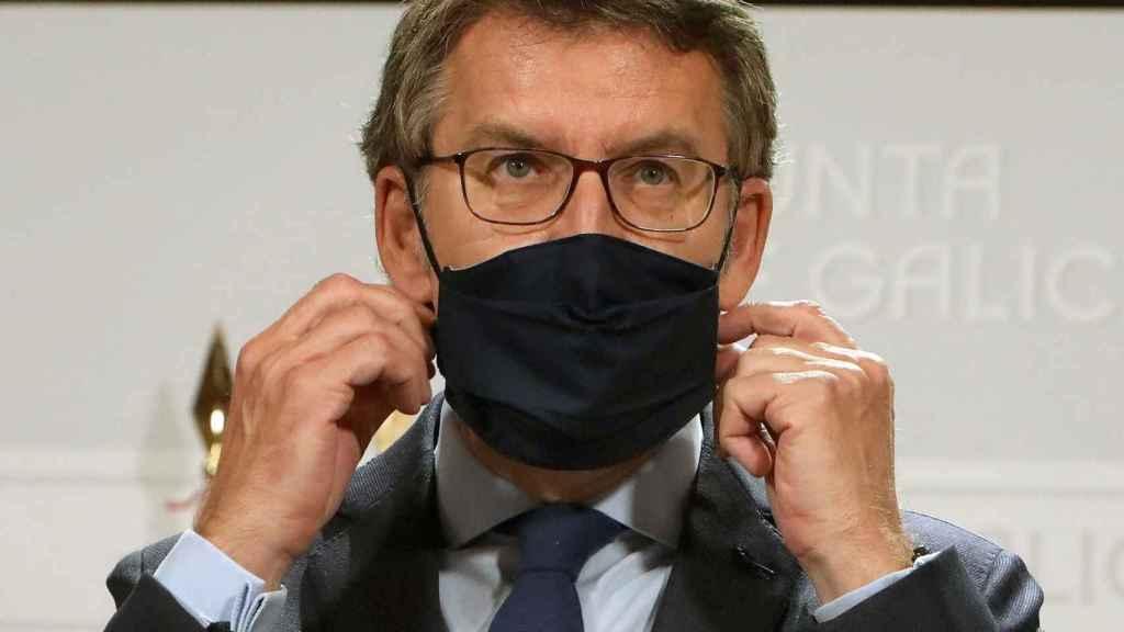 Alberto Núñez Feijoó anuncia que se prohíben los botellones.