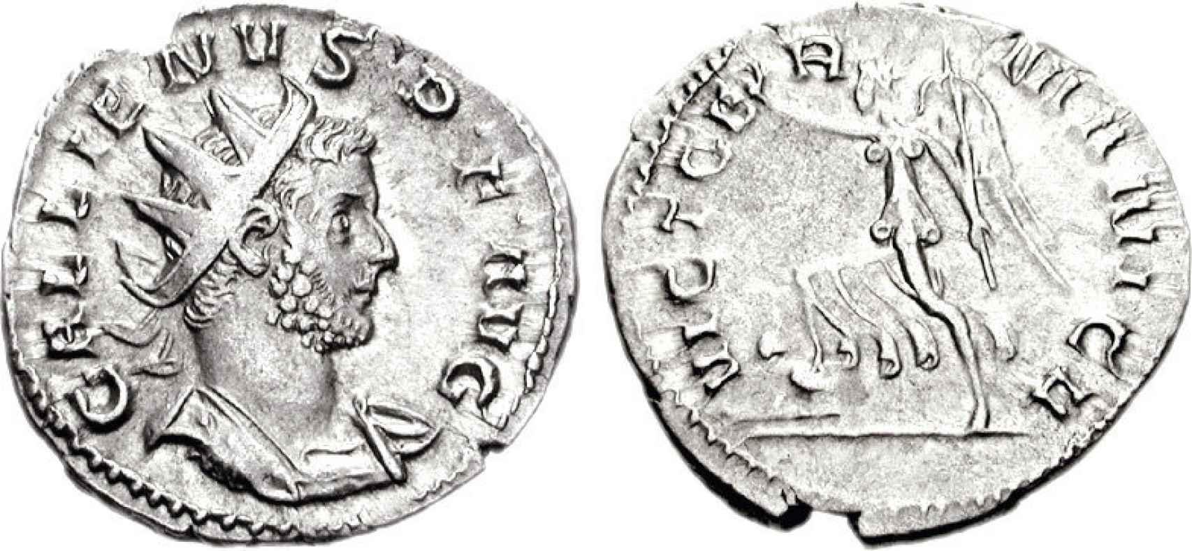 Antoniniano de Galieno.