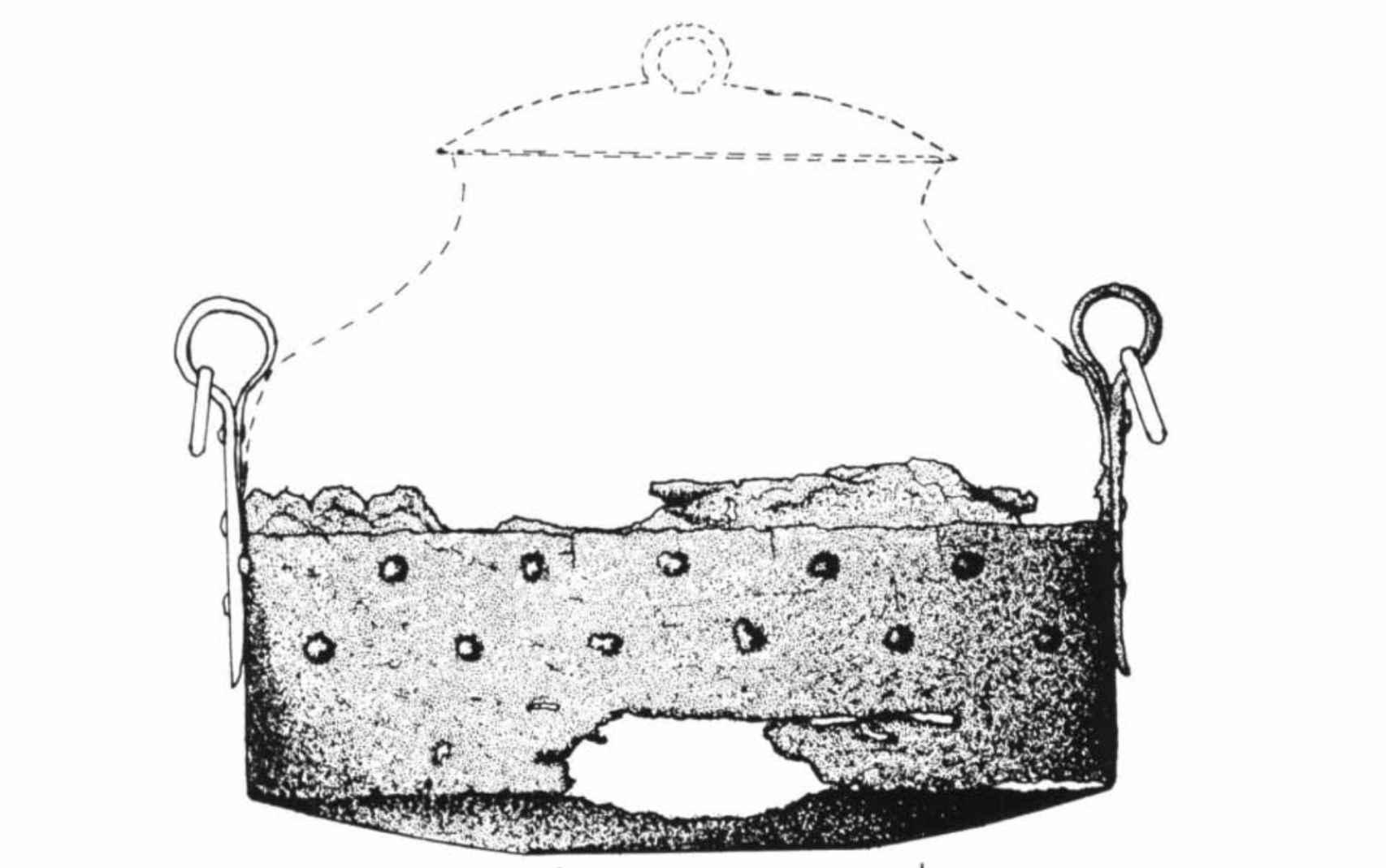 Aproximación del estado primitivo de la olla.