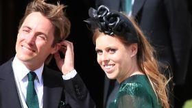 Edoardo Mapelli Mozzi y Beatriz de York en la boda de Ellie Goulding.