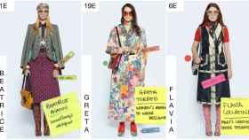 Algunas de las propuestas de Gucci.