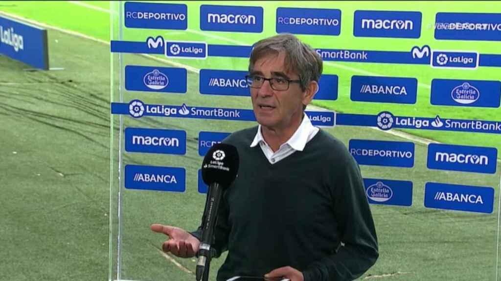 Fernando Vázquez, entrenador del Deportivo