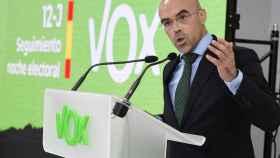 El dirigente de Vox Jorge Buxadé.