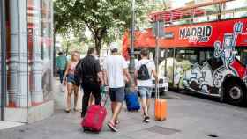 Turistas en Madrid   EP