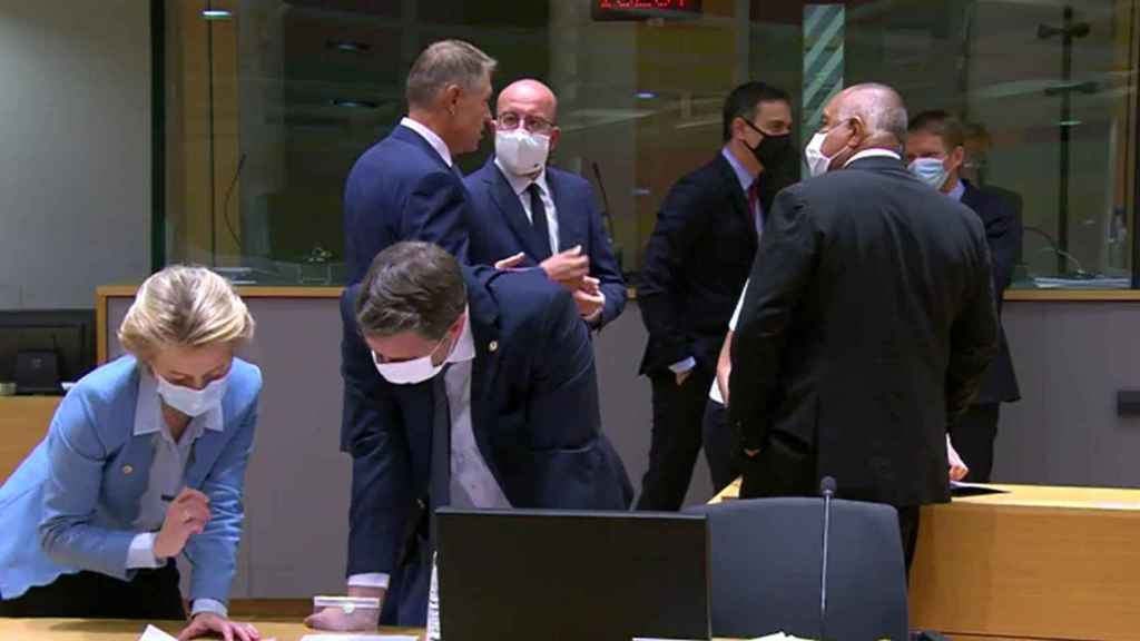 Imagen de la última reunión del Consejo Europeo.
