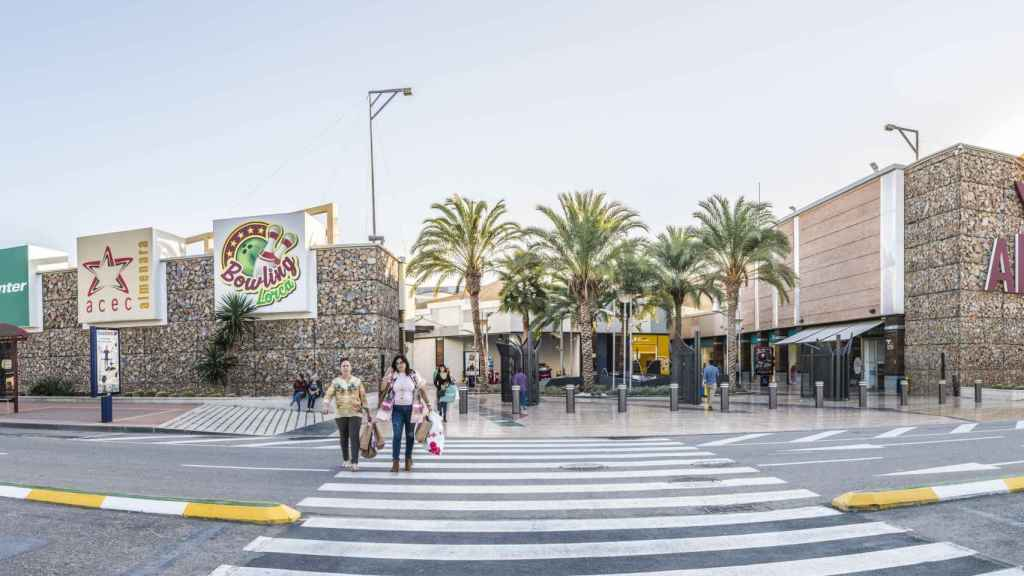 Parque comercial Almenara (Lorca).
