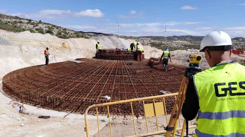 La vasca GES construirá tres nuevos parques eólicos en Zaragoza