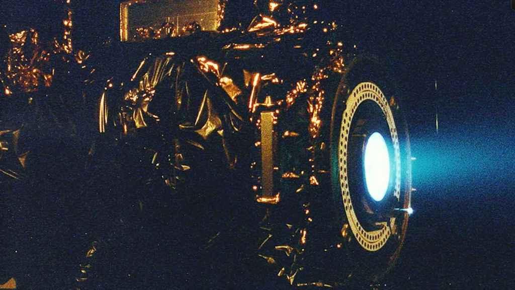 Motor iónico de rejillas