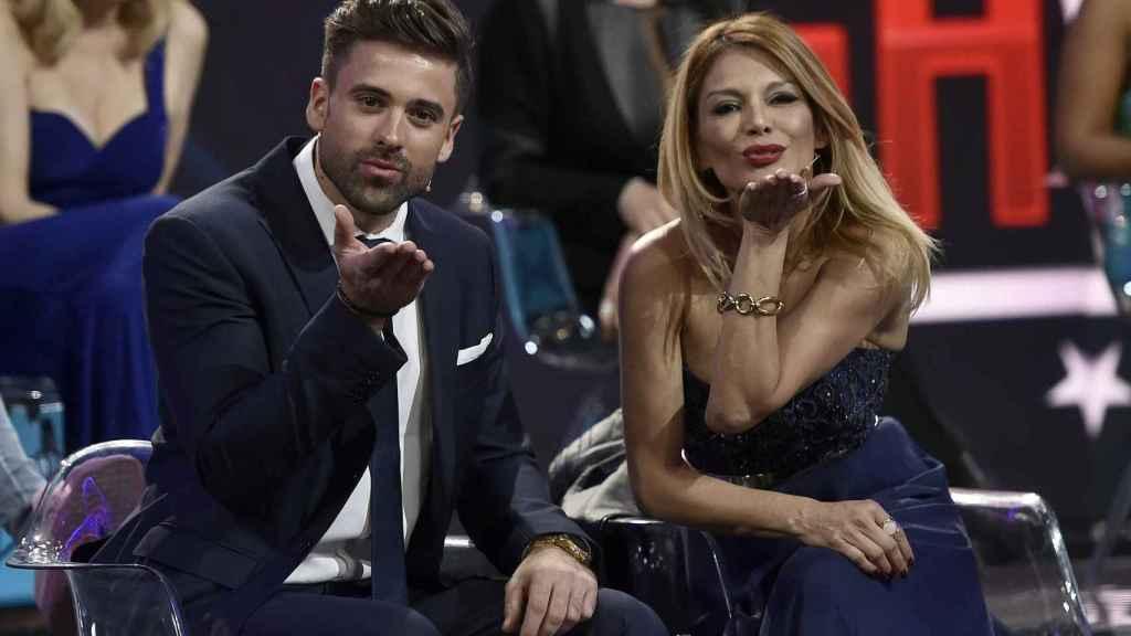 Sergio Ayala e Ivonne Reyes en 'Gran Hermano VIP' en 2017.