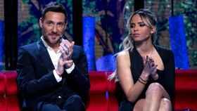 Antonio David Flores y Gloria Camila, en una gala de Telecinco.