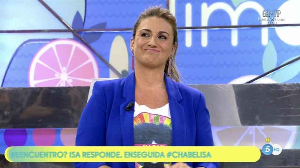Carlota Corredera se vuelca con Paz Padilla.