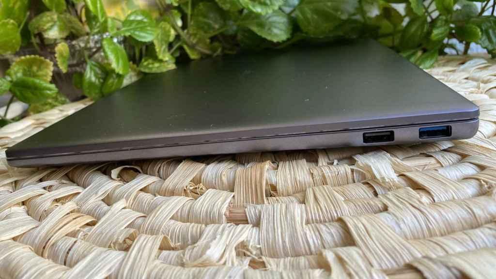 El Huawei MateBook 14 cuenta con dos puertos USB-A
