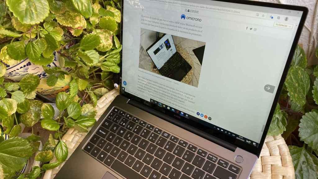 El nuevo Huawei MateBook 14 es un portátil a tener en cuenta