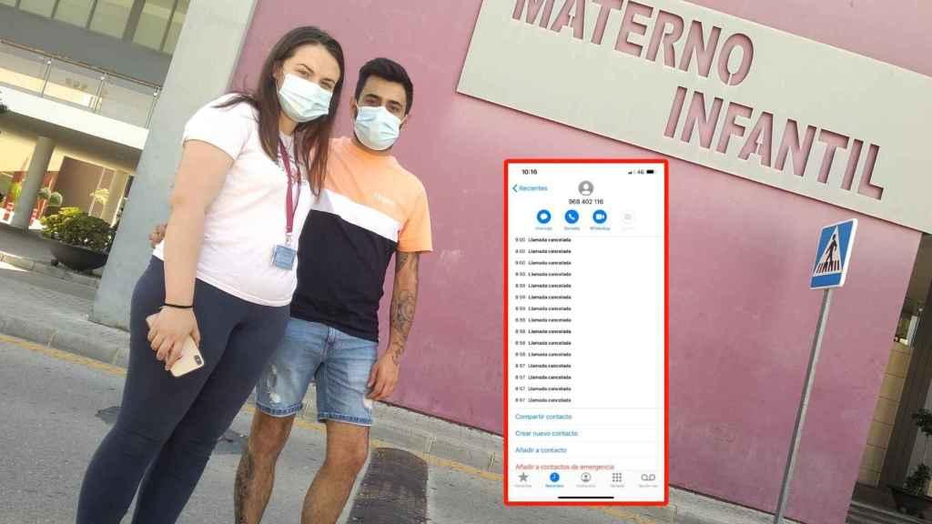 Paqui y Francisco, padres del bebé, hicieron 24 llamadas al centro de salud.