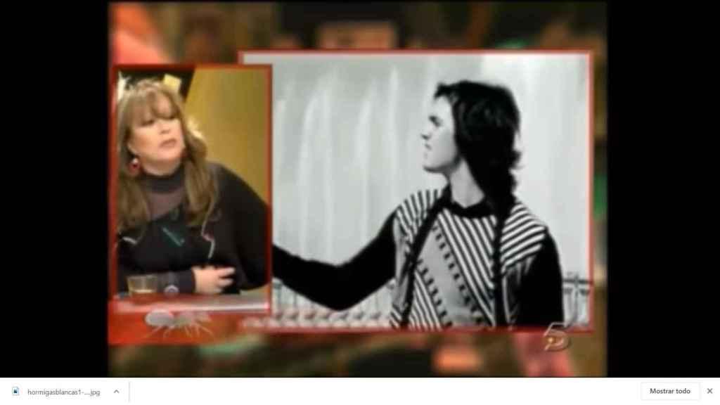 Massiel discutió con Pilar Eyre en el especial dedicado a Camilo Sesto