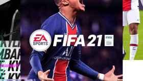 La portada del FIFA 21