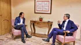 Pablo Iglesias y José Luis Rodríguez Zapatero se reúnen este miércoles en un hotel de San Lorenzo de El Escorial.