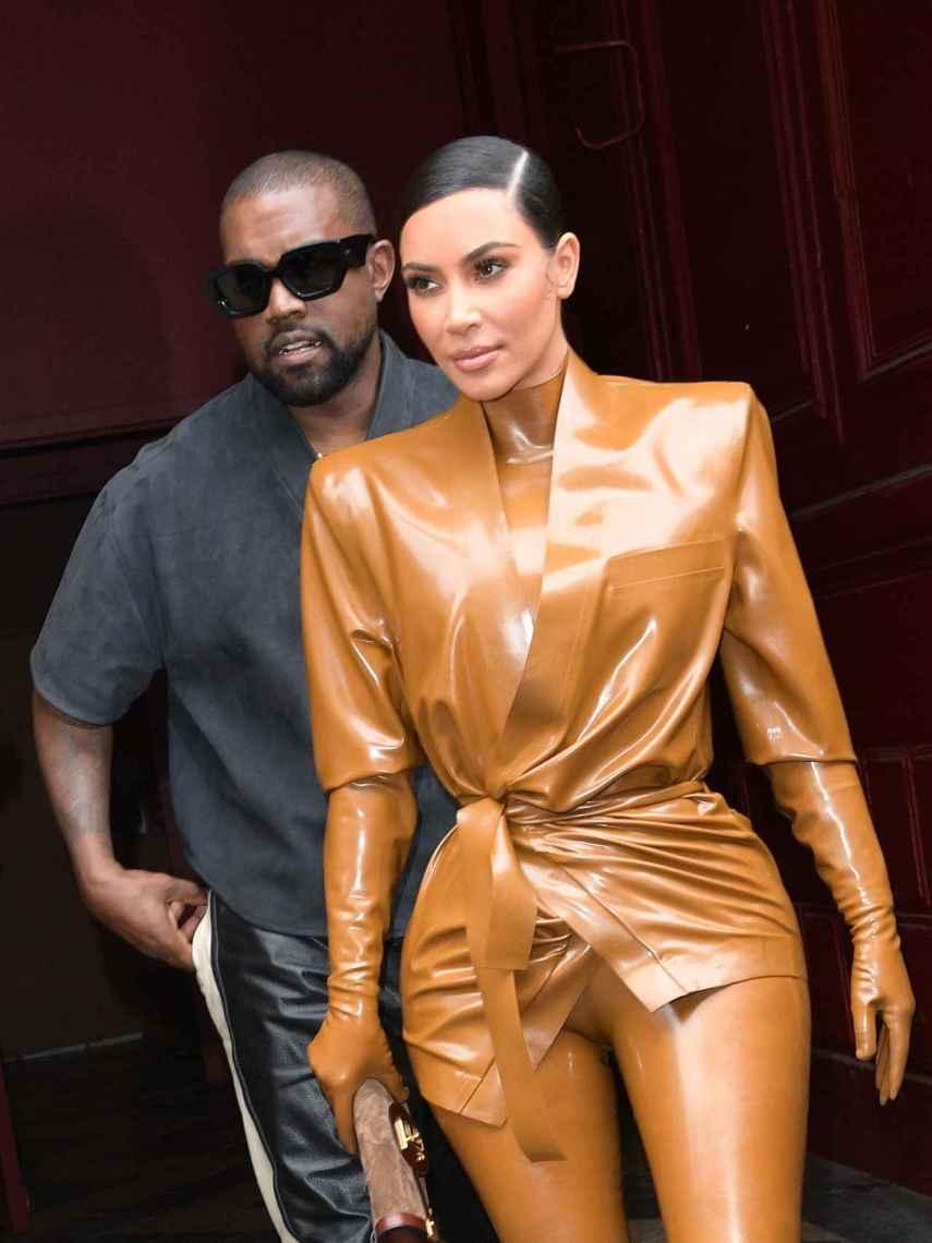Kanye y Kim podrían convertirse en presidente y primera dama de Estados Unidos.