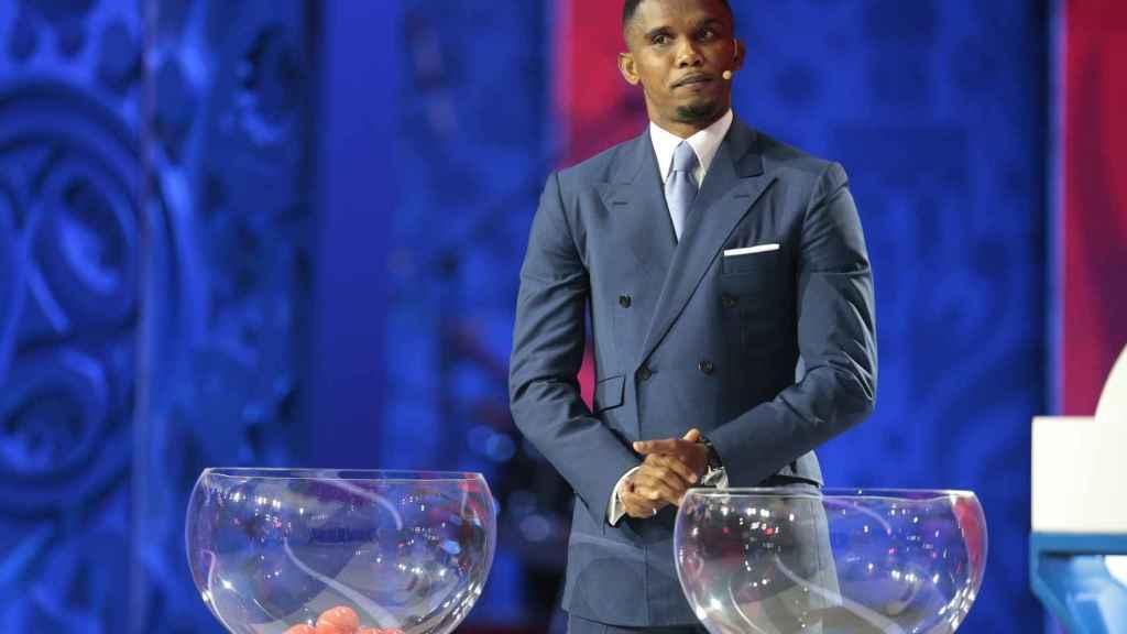Samuel Eto'o llevado a juicio por  la manutención de su hijo.