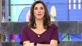 Paz Padilla durante la presentación de un programa de 'Sálvame'.