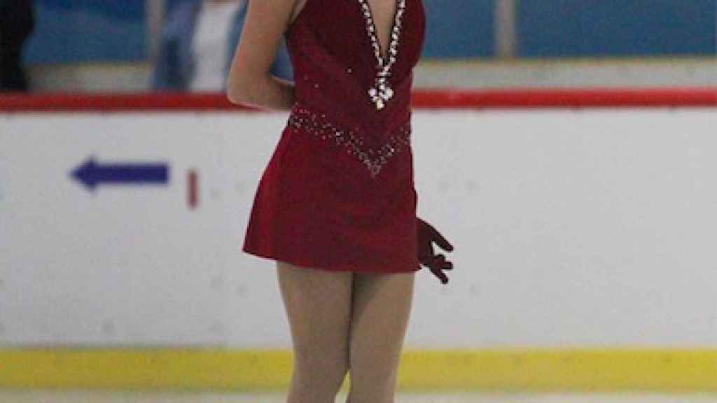 Shuran Yu durante una competición