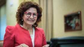 La diputada toledana Carmen Riolobos, este martes en el Congreso