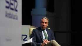 El consejero de la Presidencia de la Junta de Andalucía, Elías Bendodo.