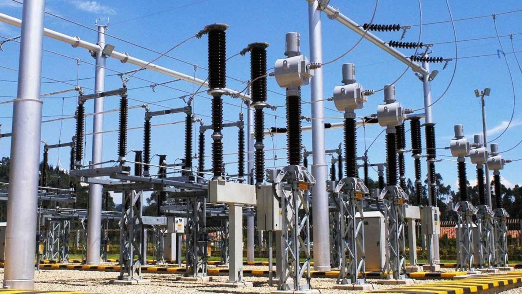 Una instalación eléctrica en una imagen de archivo.