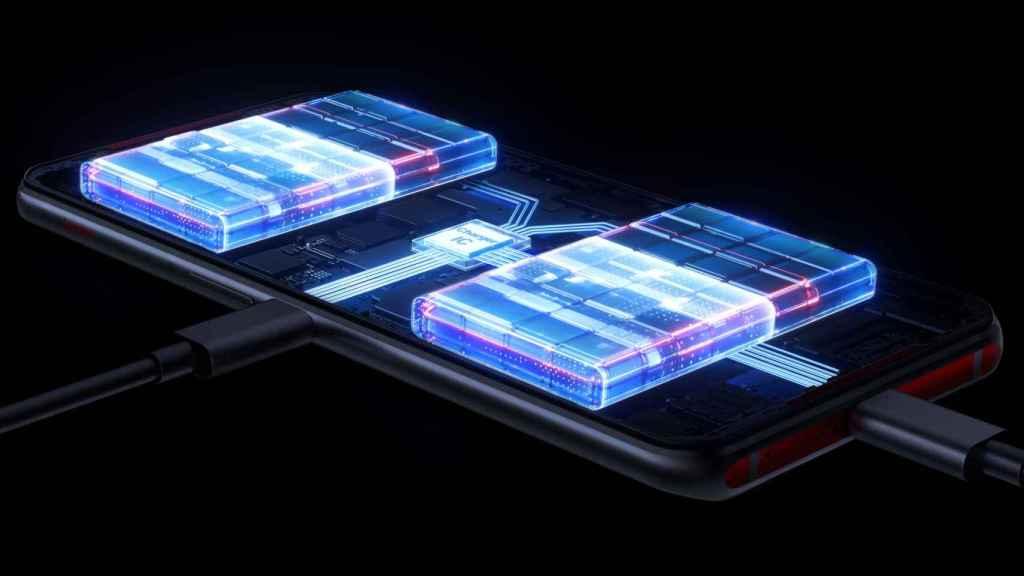 El Lenovo Legion Phone Duel tiene dos baterías