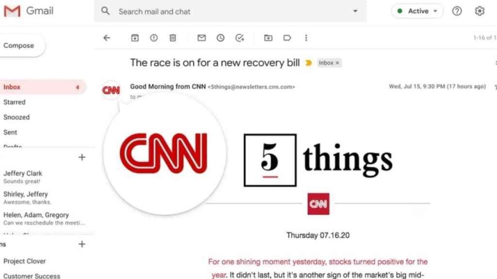 Logos en Gmail.