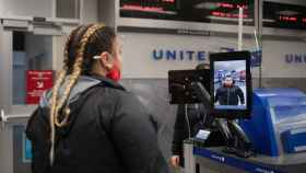 Embarque biométrico en el aeropuerto George Bush de Houston.