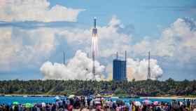 China lanzando la sonda.