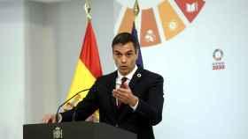 El presidente del Gobierno, Pedro Sánchez, preside la presentación de la agenda 'España Digital 2025' en Moncloa.