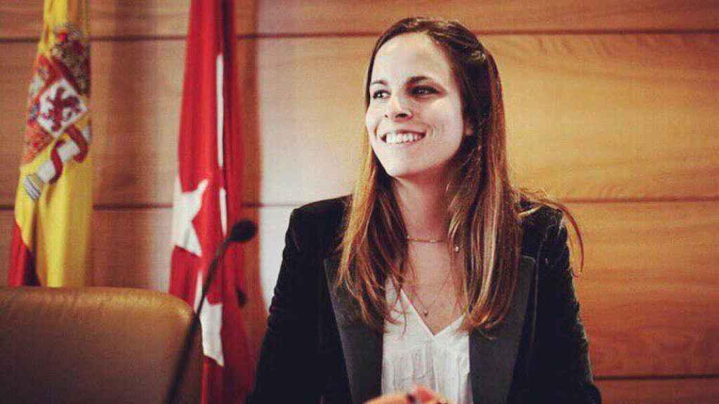 Clara R. San Miguel, diputada de Mas Madrid por la Asamblea de Madrid.